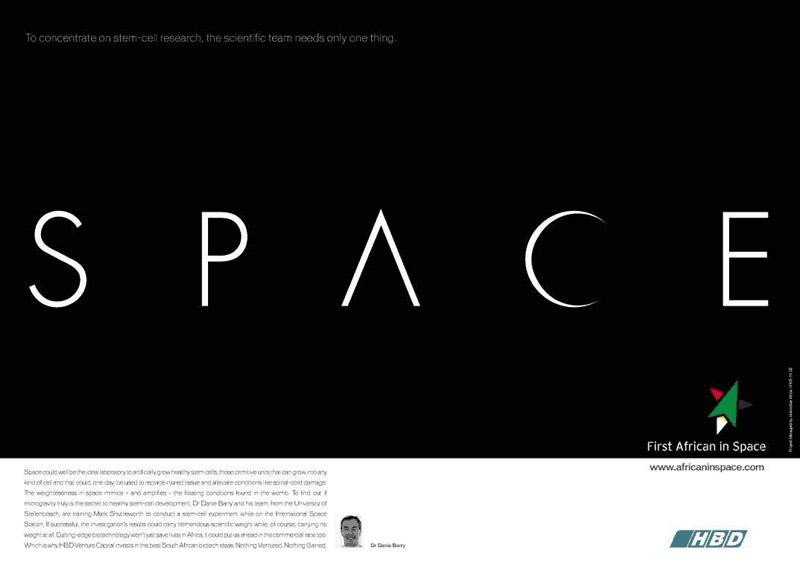 Science Experiment Ads - Space